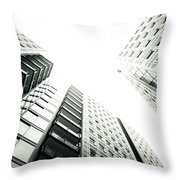 More Grids And Lines Throw Pillow
