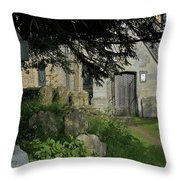 More Room Throw Pillow