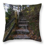 More Stairs Throw Pillow
