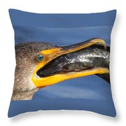 More Than A Mouthfull Throw Pillow