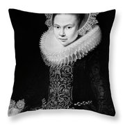 Moreelse Young Lady Throw Pillow