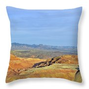 Morenci - A Beauty Of A Copper Mine Throw Pillow