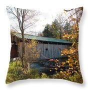 Morgan Bridge 2 Throw Pillow
