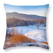 Morgan County Tennessee Throw Pillow