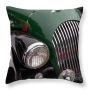 Morgan Plus 4 Grill And Hood Throw Pillow