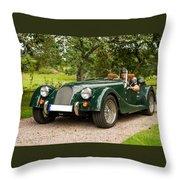 Morgan Roadster Throw Pillow