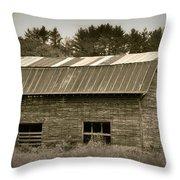 Morganton Barn Throw Pillow