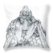 Morgoth Bauglir Throw Pillow