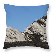 Morman Rocks Throw Pillow