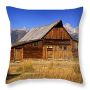 Mormaon Barn 3 Throw Pillow