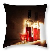 Morning And Night Throw Pillow