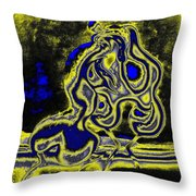 Morning Ardour Throw Pillow