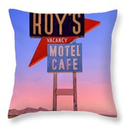 Morning At The Edge Of Nowhere Throw Pillow
