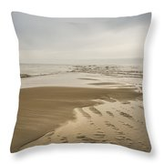 Morning At The End Of The Bar Throw Pillow