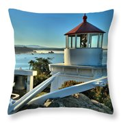 Morning At Trinidad Light Throw Pillow