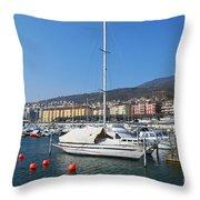 Morning Breeze Throw Pillow