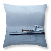 Morning Cap Throw Pillow