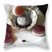 Morning Coffee Soap Throw Pillow