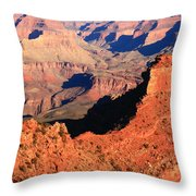 Morning Colors Grand Canyon Throw Pillow