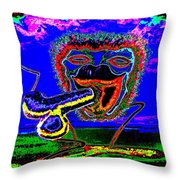 Morning Contentment Throw Pillow