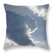 Morning Cumulus Throw Pillow