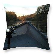 Morning Drift Throw Pillow