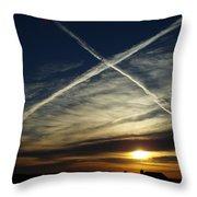 Morning Exaltation Throw Pillow