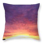 Morning Faith Throw Pillow