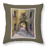 Morning Gossip Throw Pillow
