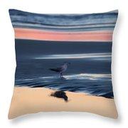 Morning Gull Throw Pillow