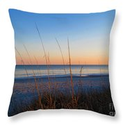 Morning Has Broken At Myrtle Beach South Carolina Throw Pillow