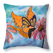 Morning In Rio Viejo Throw Pillow