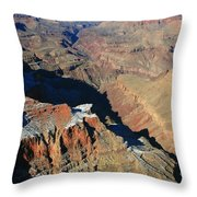 Morning In The Canyon Throw Pillow