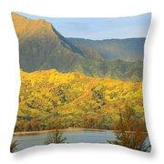 Morning Light Dances Throw Pillow