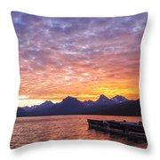Morning Light Throw Pillow by Jon Glaser