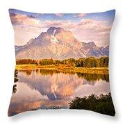 Morning Majesty Throw Pillow