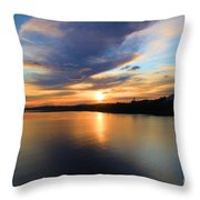 Morning Mirror Throw Pillow