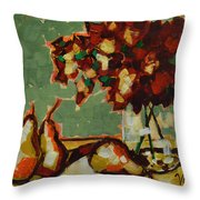Morning Moment Throw Pillow by Vickie Warner