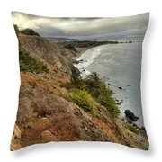 Morning Pacific Storm Clouds Throw Pillow