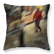 Morning People - The Man Throw Pillow