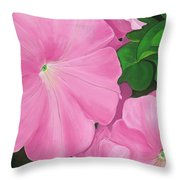 Morning Rise Painting Throw Pillow