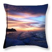 Morning Skies Throw Pillow