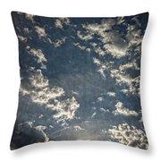 Morning Sky Fantasy Throw Pillow