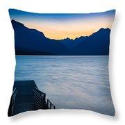 Morning Stillness Throw Pillow