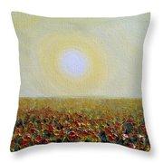 Morning Sunshine Three Throw Pillow