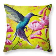 Morning Sweets Throw Pillow