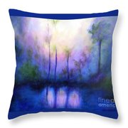 Morning Symphony Throw Pillow