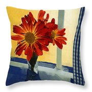 Morning Window Throw Pillow