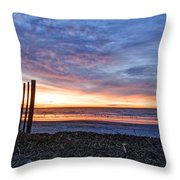 Morning With The Birds Throw Pillow