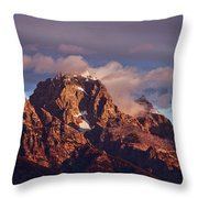 Morning's First Rays Throw Pillow